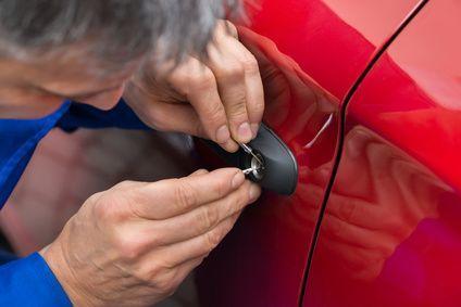 Lockpicking an rotem Auto